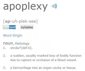 apoplexy Internet of Things